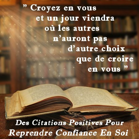 citation croire en soi