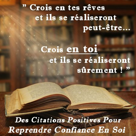 citation de confiance en soi